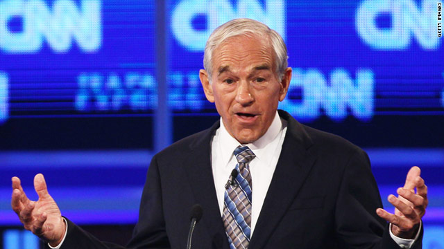 Texas Rep. Ron Paul won a California straw poll on Saturday.