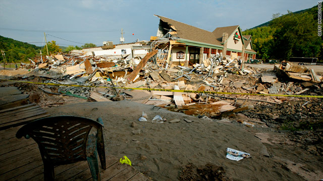 Damage from Hurricane Irene and other natural disasters in 2011 increased the demand for emergency relief funds.
