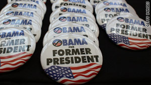 Anti-Obama merchandise was on sale last week at the Republican Party of Florida's Presidency 5 conference in Orlando.