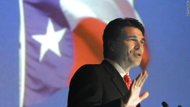 Texas Gov. Rick Perry's campaign points to his record of appointing blacks and Latinos to key government positions.
