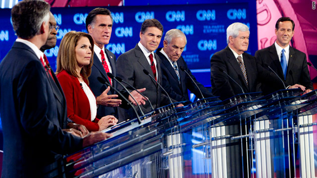 The eight major GOP hopefuls are set to face off Tuesday in the Bloomberg/Washington Post debate in Hanover, New Hampshire.