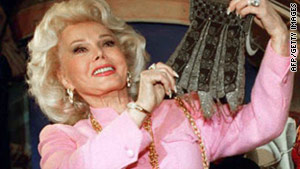 Zsa Zsa Gabor, seen here in 1996, is scheduled to have part of a leg amputated, her representative says.