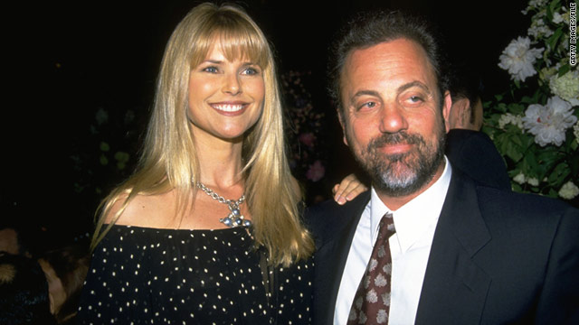 "Fans have long believed that Bill Joel wrote the song ""Uptown Girl"" for former wife Christie Brinkley."
