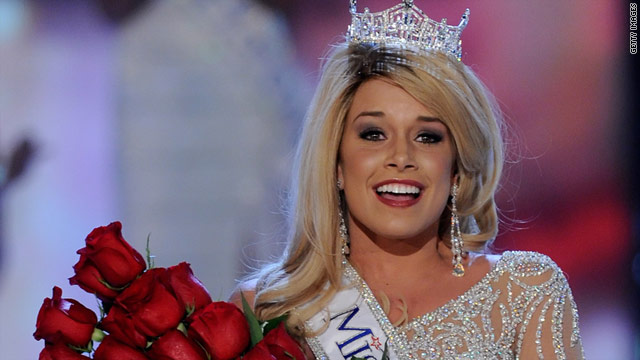 New Miss America Teresa Scanlan hopes to become a judge and later a politician.