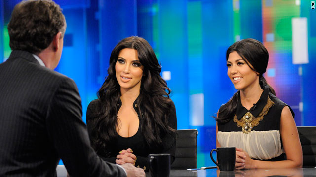 Kim and Kourtney Kardashian are Piers Morgan's guests on Thursday.