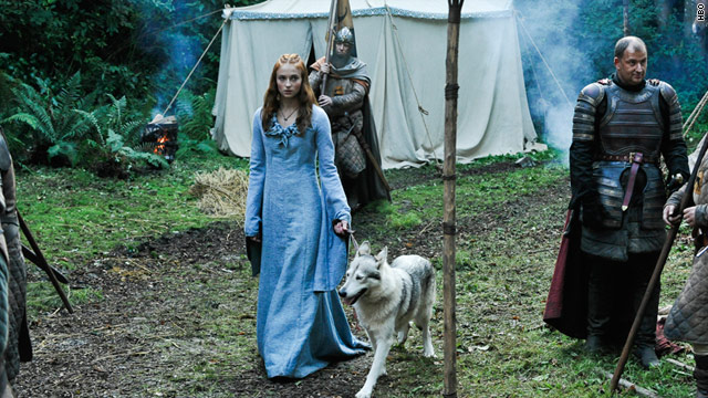 "HBO's ""Game of Thrones"" with Sophie Turner is based on George R.R. Martin's ""Song of Ice and Fire"" series. It debuts in April."