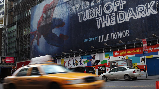 "The Broadway musical, ""Spider-Man: Turn Off The Dark,"" has been plagued by accidents and delays."