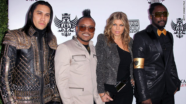 The Black Eyed Peas shot their latest music video in Tokyo a few days before the earthquake and resulting tsunami hit Japan.
