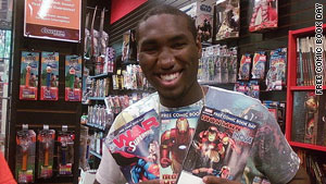 According to the organizers of Free Comic Book Day, hundreds of thousands pick up the free comics every year.
