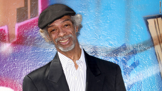 Gil Scott-Heron was known for his poetry and soul works in the late 1960s and early 1970s.
