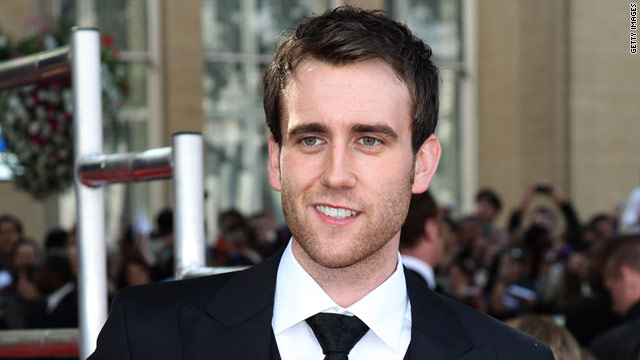"Matthew Lewis, who plays Neville Longbottom in the Harry Potter films, attends the London premier of ""Deathly Hallows Part II."""