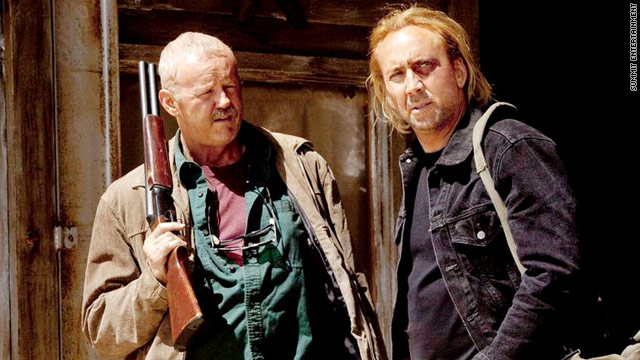 David Morse and Nicolas Cage star in the new film &quot;Drive Angry.&quot;