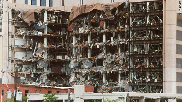 The blast at the Alfred P. Murrah Federal Building left 168 dead and injured more than 500.