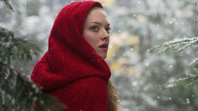 "Amanda Seyfried stars as the main character in the film, ""Red Riding Hood."""