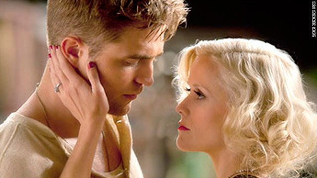 "Robert Pattinson and Reese Witherspoon find each other in the new film ""Water for Elephants."""