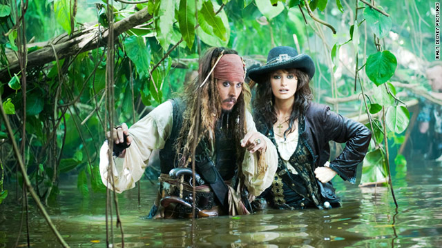 "Reviewer says Johnny Depp and Penelope Cruz lack chemistry in ""Pirates of the Caribbean: On Stranger Tides."""