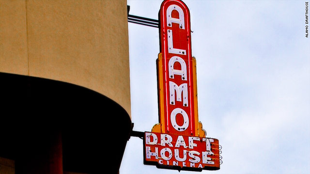 The Alamo Drafthouse was founded to improve on the moviegoing experience.