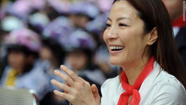 Actress Michelle Yeoh plays Myanmar opposition leader Aung San Suu Kyi in an upcoming movie.