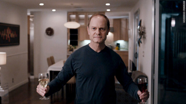 "David Hyde Pierce's character isn't quite who he seems at first in the dark comedy thriller ""The Perfect Host."""