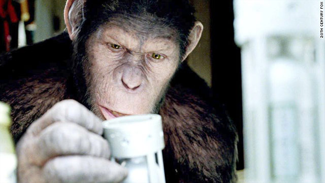 "Actor Andy Serkis brings Caesar to life in ""Rise of the Planet of the Apes,"" which also stars James Franco and Freida Pinto."
