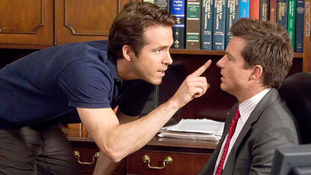 """The Change-Up"" stars Ryan Reynolds and Jason Bateman."