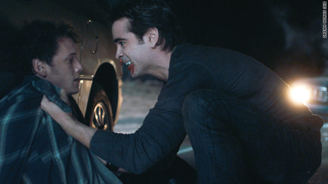 "Colin Farrell stars in ""Fright Night"" as a vampire named Jerry."