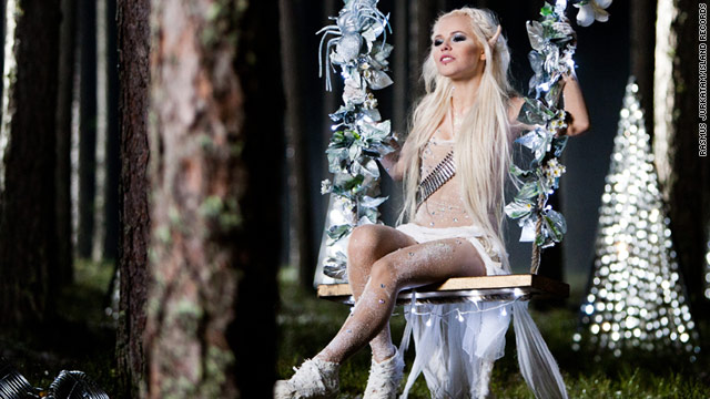 Estonia's Kerli, pictured here, is one of several European pop stars now living in Los Angeles.