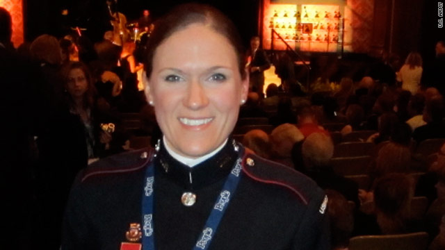 Staff Sgt. Brandie Lane is returning to West Point with a Grammy award for best engineered album, classical.