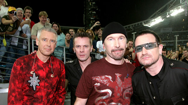 U2 is one of many musicians and performers raising money for the Japan relief.