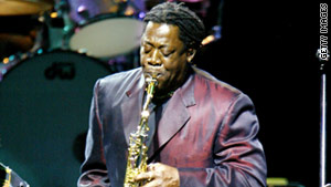 Clemons was an intermittent member of Bruce Springsteen's E Street Band, starting in 1972.