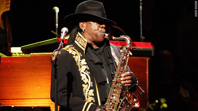 Clarence Clemons was an original member of Bruce Springsteen's E Street Band.