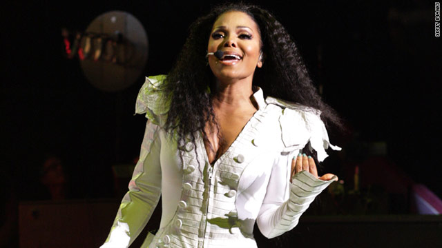 Janet Jackson performed in London on Thursday at the Royal Albert Hall.