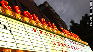 The Georgia Theatre's signature marquee has displayed the names of everyone from The Police to Widespread Panic.