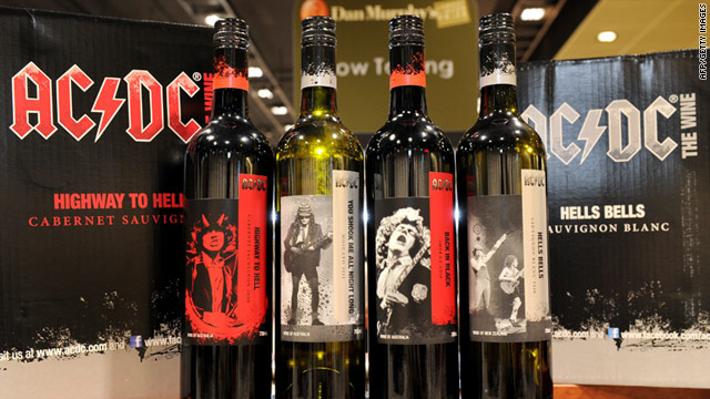 "Australian heavy metal band AC/DC have partnered with Warburn Estate winery to release ""AC/DC The Wine."""