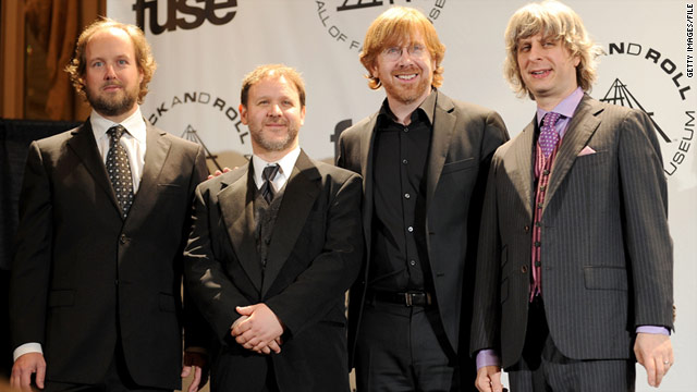 The band Phish has not performed  in Vermont since 2004.