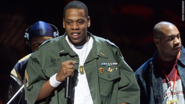 Jay -Z performed at The Concert for New York City at Madison Square Garden to benefit the victims of 9/11 in October 2001.