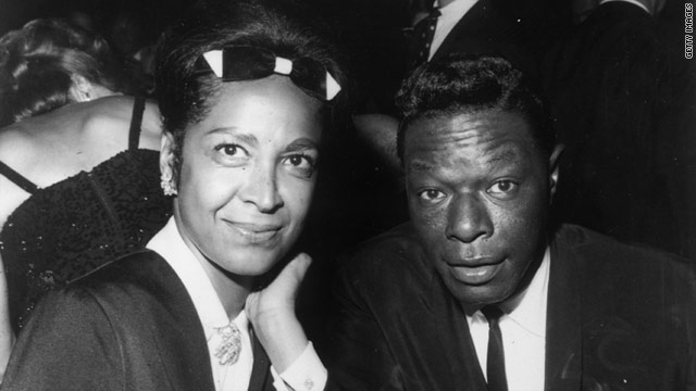 Nat King Cole and his wife Maria attend a Hollywood event in 1964. Cole's groundbreaking TV show is now available online.