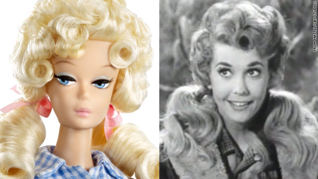"Mattel came out with the ""Elly May Barbie""  in December; Donna Douglas played Elly May Clampett on CBS from 1962 to 1971."