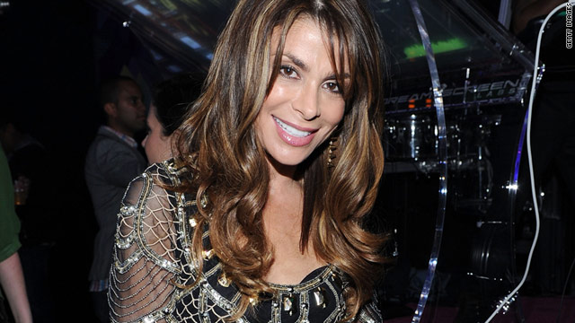 "Paula Abdul said she was ""delighted"" to be reunited with Simon Crowel, but added to ""check back with me in a week or two."""