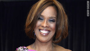 Gayle King was a TV news anchor and a talk-show host before moving over to the Oprah empire.