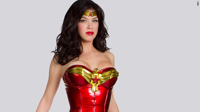 Did Warner Bros. TV make a mistake by releasing early pictures of Adrianne Palicki in the costume?