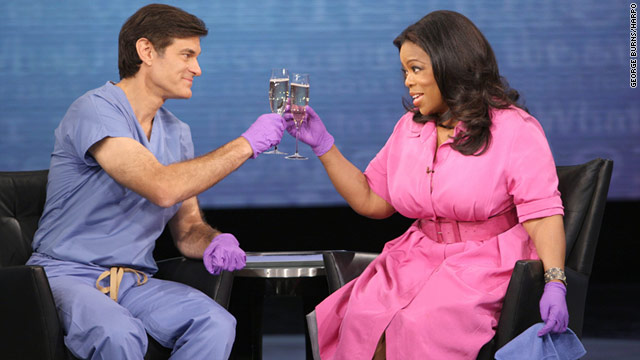 Mehmet Oz said he considers it an honor to take over time slots left vacant by his mentor, Oprah Winfrey.