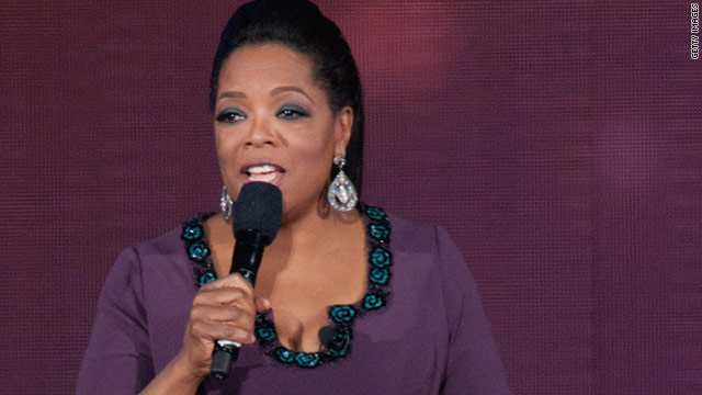 Oprah Winfrey signs off Wednesday after 25 years.