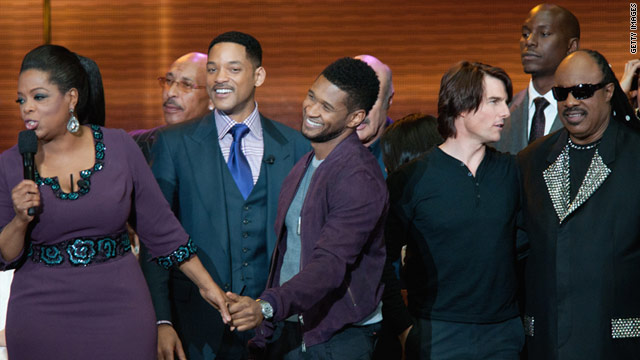 "The lead up to the finale of ""The Oprah Winfrey Show"" included a two day, star-studded event."