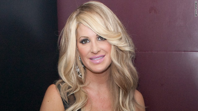 """Real Housewives of Atlanta"" star Kim Zolciak announced late Tuesday that she has given birth to a boy."