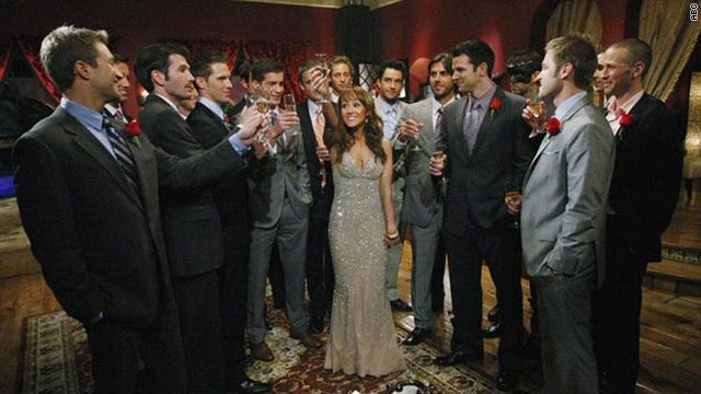 "On this season of ""The Bachelorette"" Ashley Hebert has 25 men to choose from."