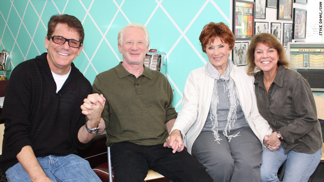 Anson Williams, Don Most, Marion Ross and Erin Moran are suing for unpaid royalties.