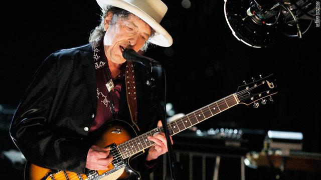 Bob Dylan Performs onstage in June 2009 in Culver City, California.