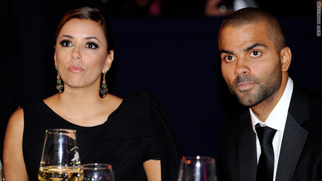 Eva Longoria and Tony Parker filed for divorce in November.