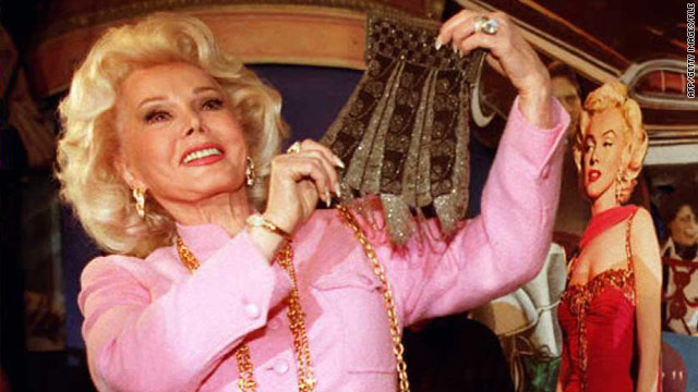 Actress Zsa Zsa Gabor was taken by ambulance to a Los Angeles hospital Tuesday morning.
